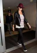Stacy Keibler - Arriving at LAX 4/13/14