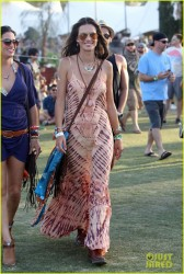 Alessandra Ambrosio - 2014 Coachella Music Festival: Day Three 4/13/14