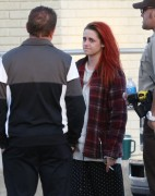 Kristen Stewart - On the set of 'American Ultra' in New Orleans 4/15/14