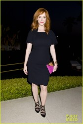 Christina Hendricks - Jimmy Choo Launch Of CHOO.08 in Beverly Hills 4/15/14
