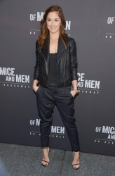 Minka Kelly - 'Of Mice and Men' Broadway Opening Night in NYC 4/16/14