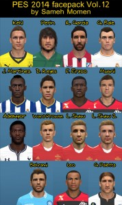 Download PES 2014 Facepack vol.12 by Sameh Momen