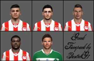 Download PES 2014 GREEK FACEPACK V.3 by PantelG7