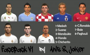 Download PES 2014 Facepack v1 by Anis and Joker