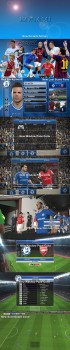 Download Blue Theme For Pes2014 by Hawke