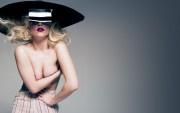 Lady Gaga : Topless Widescreen Wallpapers x 6