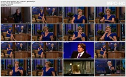 EMMA THOMPSON wild woman, cleavage - leno - 8.6.10