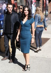 Courteney Cox - Arriving to the 'Late Show with David Letterman' in NYC 4/21/14
