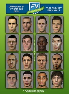 FIFA14 FACE PROJECT VOL.5 BY SAM_RED DEVIL