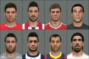 Download PES 2014 Facepack International vol.6 by tunizizou