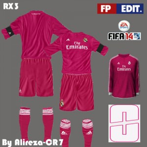 FIFA 14 Away Kit Real M C.F 14/15 by Alireza-CR7