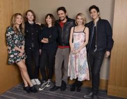 Emma Roberts - 'Palo Alto' Cast Portrait in NYC 4/24/14