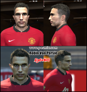 Download Robin Van Persie PES2014 Face By DzGeNiO