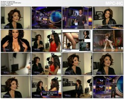 LISA RINNA - extraTV - behind the scenes PLAYBOY PHOTOSHOOT