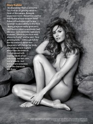Stacy Keibler Nude in People Magazine's Most Beautiful People Issue 2014