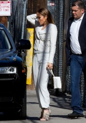 Jennifer Lopez - Arriving to 'Jimmy Kimmel Live!' in Hollywood 4/28/14
