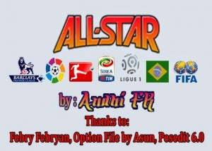 Download PES 2013 All Star Team by AFR