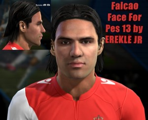 Download PES 2013 R. Falcao Face By EREKLE JR