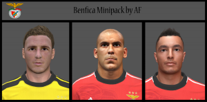 Download PES 2014 Benfica MiniFacepack by AF