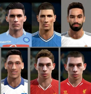 Download PES 2013 International Facepack by MagicPro