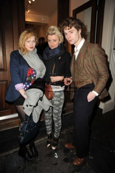"Rachel Hurd-Wood at the private view of ""The Gathering"" by William Roper-Curzon on Feb 23rd, 2010. (x1 Med. quality)"