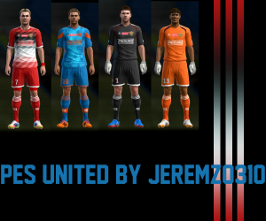 Download PES 2013 PES United Kits by JEREMZ0310