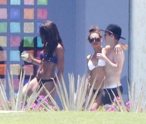 Naya Rivera bikini vacation thong candids 13