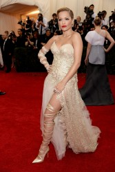 Rita Ora - 2014 Met Gala in NYC 5/5/14