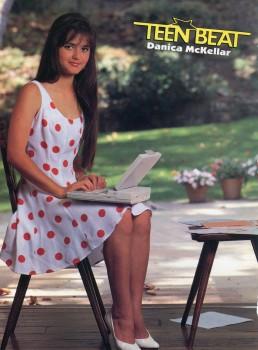 Danica McKeller: Too Cute In A Polka Dot Dress - HQ x 1