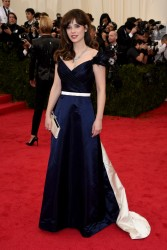 Zooey Deschanel - 2014 Met Gala in NYC 5/5/14