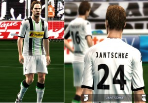 Download PES 2013 BORUSSIA MONCHENGLADBACH HOME KIT 2014-15 by argy