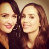 Eliza Dushku - Instagram Pic With Makeup Artist - 1 MQ