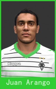 Juan Arango PES 2014 Face by Footballmania