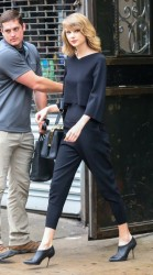 Taylor Swift - Leaving the gym in NYC 5/9/14