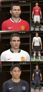 Download PES 2014 Manchester United 2014-2015 Kits by Ram'z