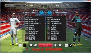 Download PES 2013 Olympique Marseille 14-15 Kits by Watanyou