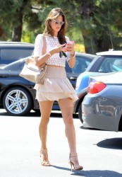 Ale Ambrosio - Out and About in Brentwood - 5/14/14