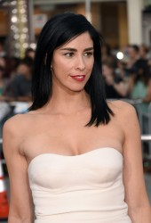 "Sarah Silverman - ""A Million Ways To Die In The West"" Premiere in Westwood 5/15/14"
