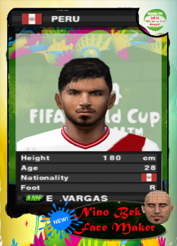 Juan Manuel Vargas Face PES 2014 PS2