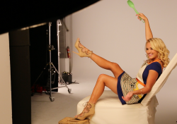 Emily Osment - Leggy Pic From Young & Hungry