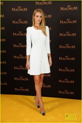 Rosie Huntington-Whiteley - Magnum Press Conference in Berlin 5/19/14
