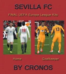Kits Sevilla Uefa Europa League Final 2014