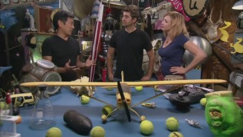 Kari Byron | Tennis Outfit | Latest Mythbusters Episode | 19/5/14 | MQ caps + Gifs