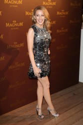 Kylie Minogue - Magnum 25th Anniversary Party at Cannes 5/21/14