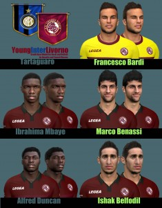 Download Pack Young Inter Livorno by Tartaguaro