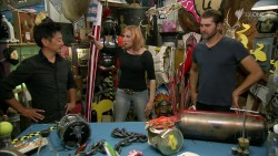 Kari Byron Mythbusters - Silver Screen Car Chaos/Driving this crazy - 12/05/14 HQ caps