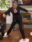 Jamie Lee Curtis - Cleavage - The Nate Berkus Show - 2010