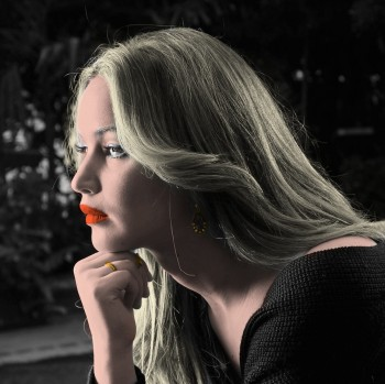 Jennifer Lawrence - 5 Pictures - Colored by me