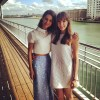 Lyndsy Fonseca and her sister in London - 1 LQ