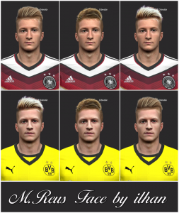Download PES 2014 Marco Reus Face by ilhan